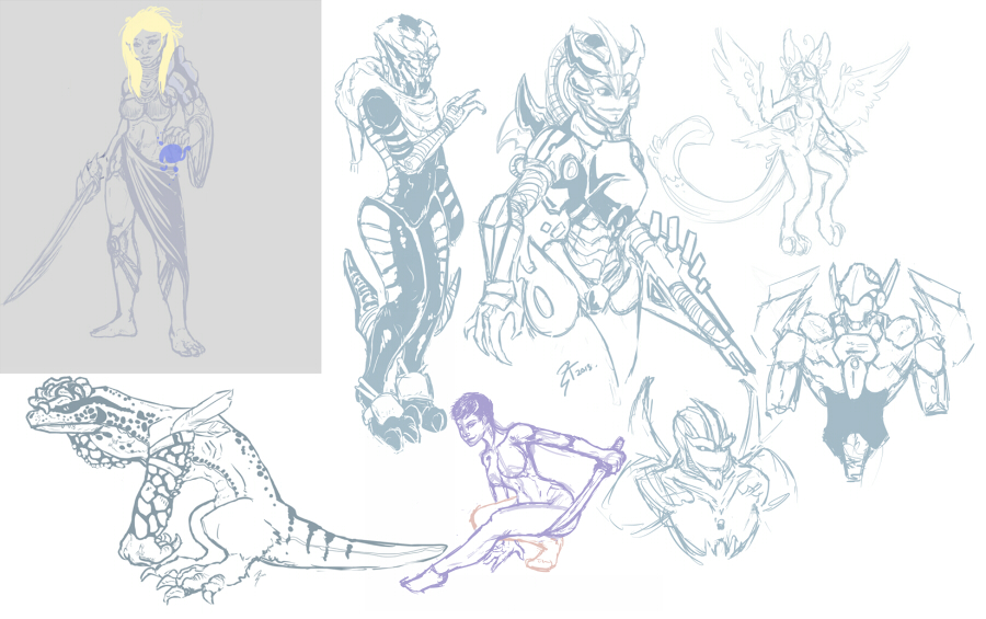 Sketches 24-02-2013