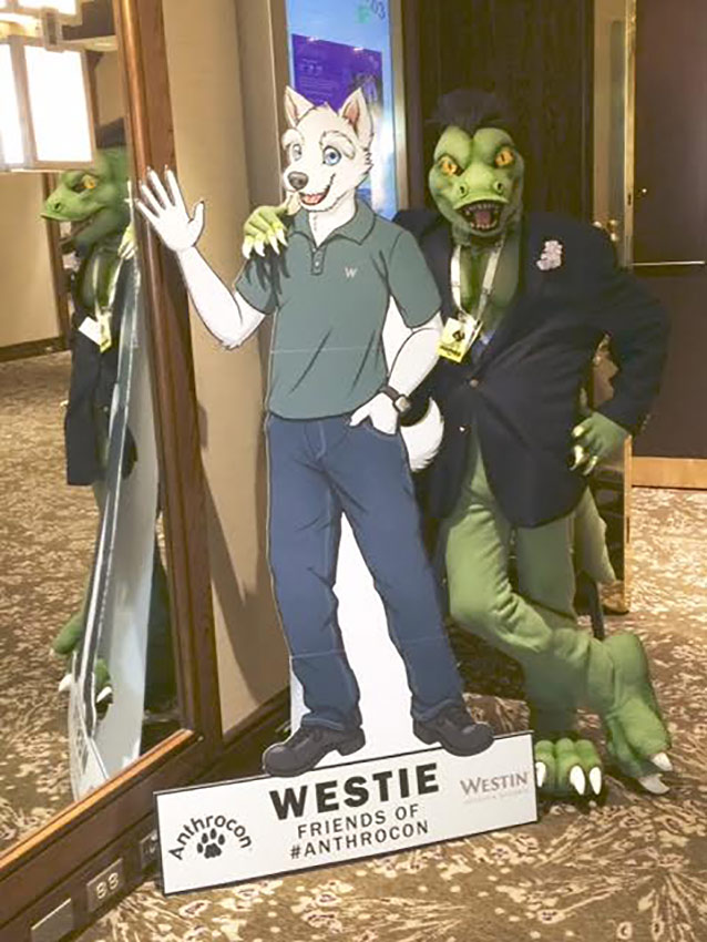 Komos and Westie
