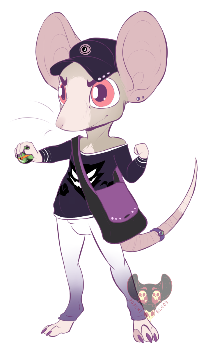 Trainer Rodent Challenges You Weasyl