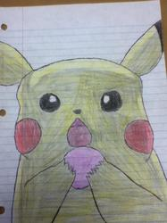 Pikachu Eating