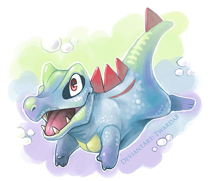 Gift - Totodile