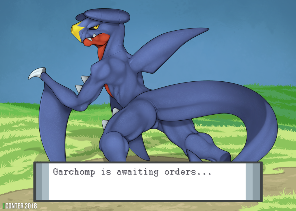 Most recent image: Garchomp is awaiting orders...