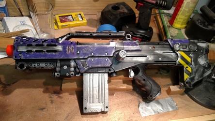 "Nerf Longshot: ""Shot in the Dark"""