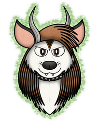 Great Horned Skunkdog