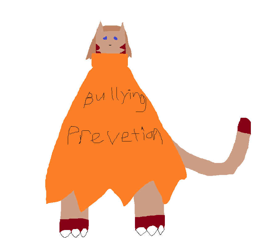 Bullying prevention suit (warning I talk about bullying.)