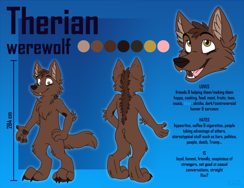 Most recent image: [C]Therian reference sheet