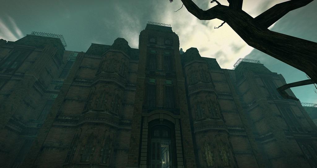 the main ward, the sinful crux asylum