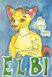 Trade: badge for Elbi (watercolor)