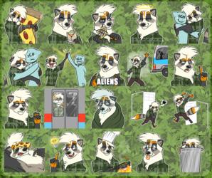 [commission] Telegram Stickers: Jac0