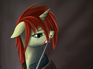 Not a Fallout:Equestria fanart