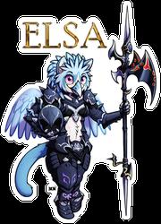Elsa FFXIV Full Body Badge