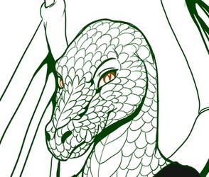 Emerald Dragoness