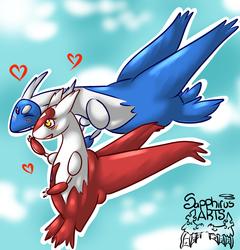 Dragon Love +Latios and Latias+