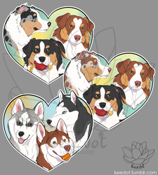 -Heart- Dogs