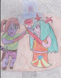 RP Scene: Felicia vs Amoretta