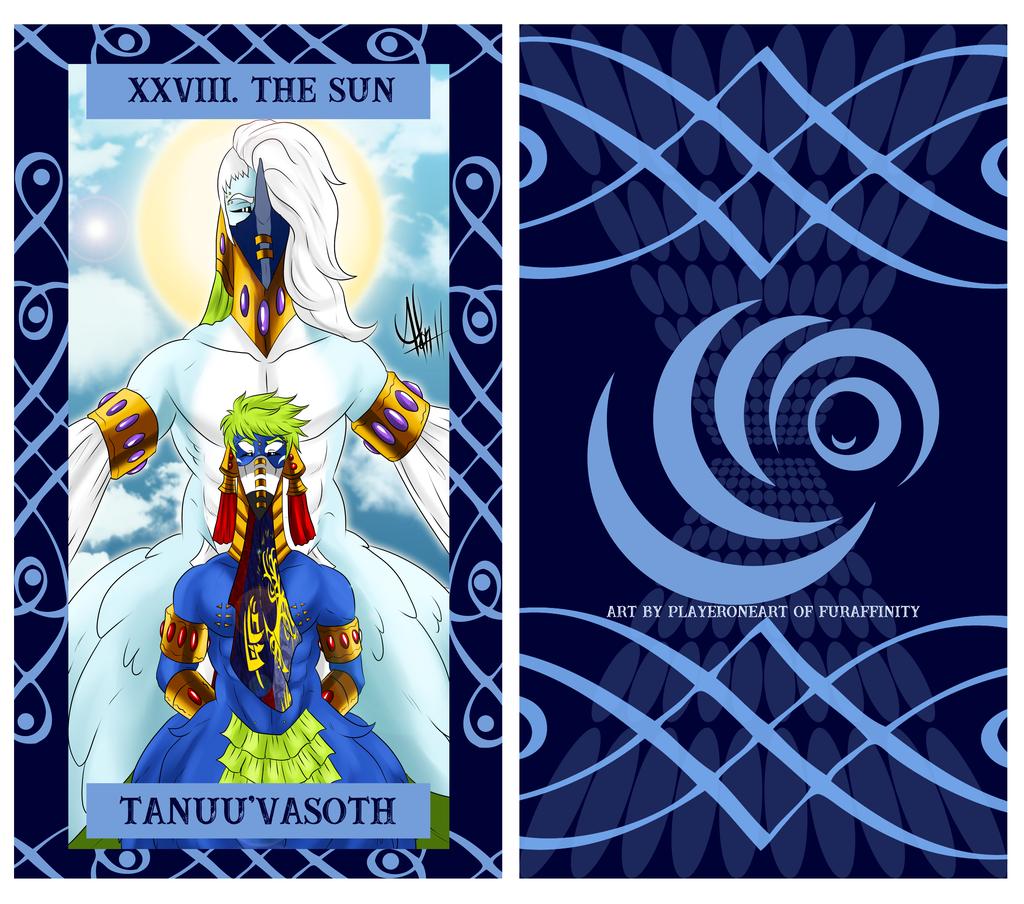 The Uragi Tarot - XXVIII The Sun