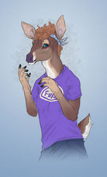 Cutie patootie in a Faygo shirt - gift