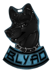blyad badge