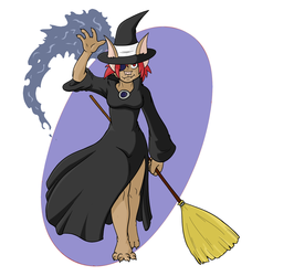 Adelle Bast: Professional Vampire Witch!