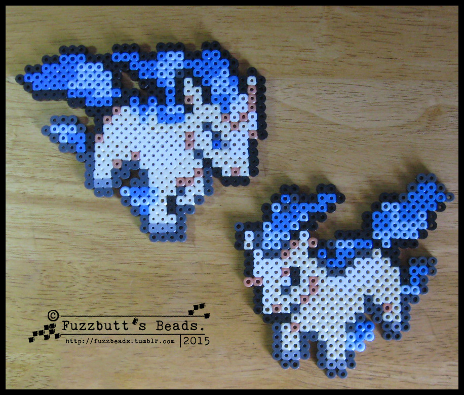 Ponyta and Rapidash (custom)