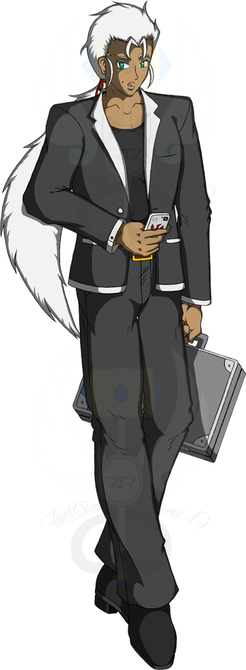 Most recent image: OC Full: Maxwell Archus-White (Old Art)