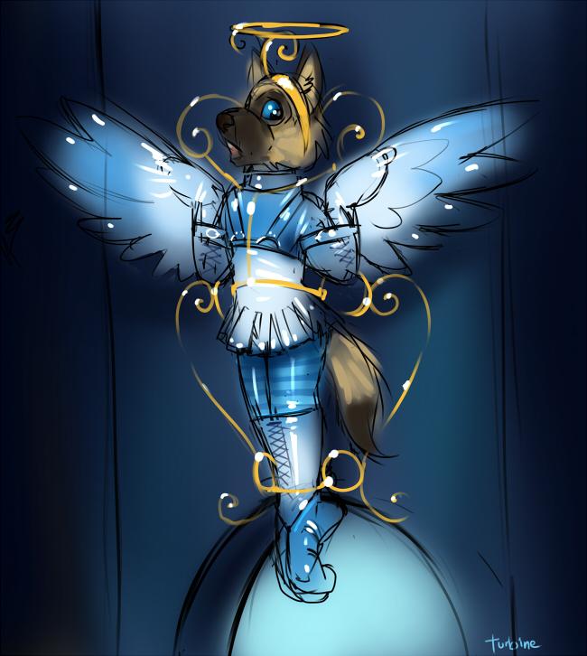 Elliot the angel
