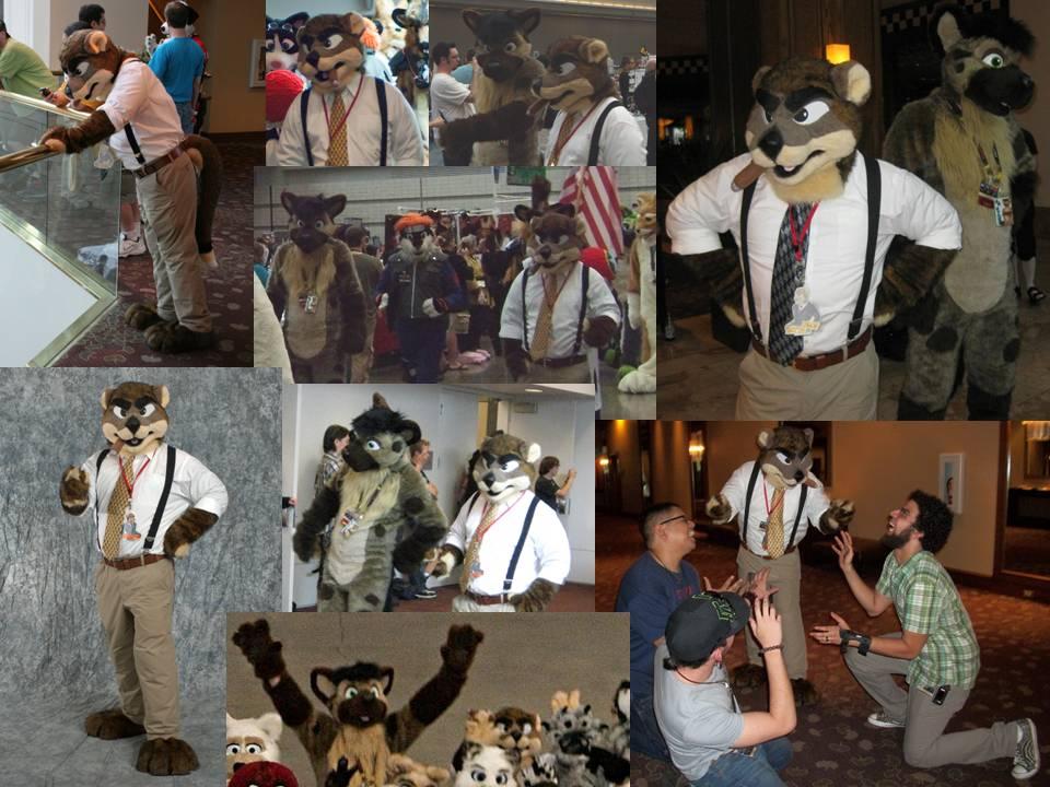 Anthrocon 2012 Fursuit Photo Anthrocon 2010 Fursuit Montage