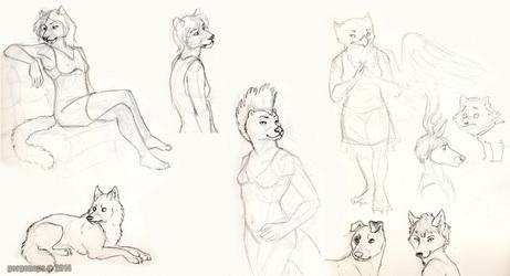 TFF Art Jam doodles