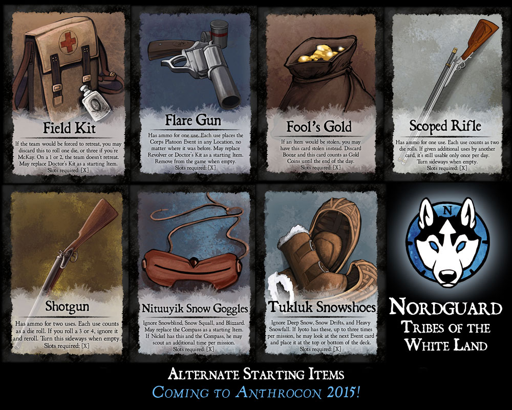 Nordguard: Tribes of the White Lands - Item Preview