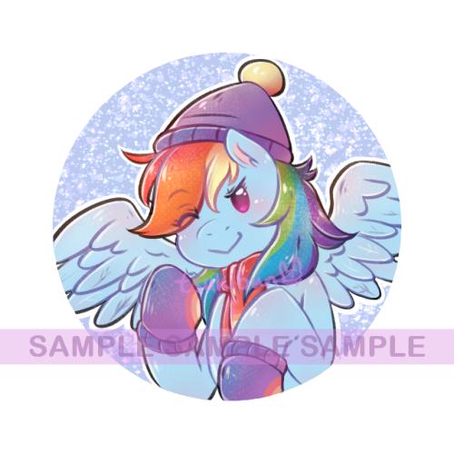 [M] MLP:FiM Winter Set Rainbow Dash