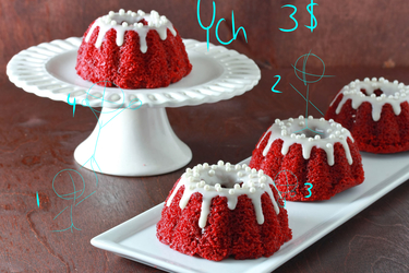 YCH {Limited Slots~!} Red velvet pundit cake~!