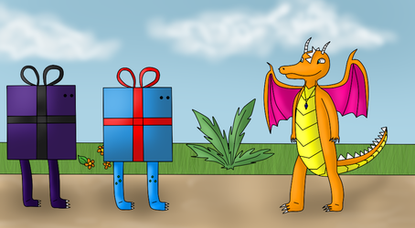 Draco's birthday gift from 2013