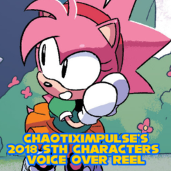 2018 Sonic The Hedgehog Characters Voice Over Reel