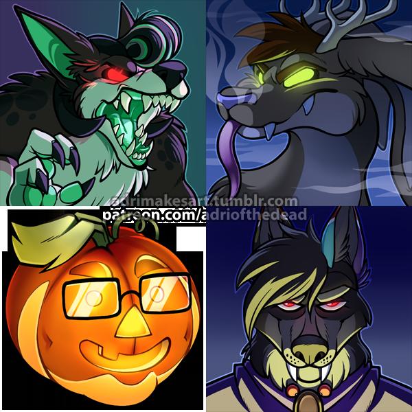 Halloween Icons - Batch 2