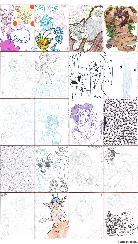 Sketchbook 74 - Part 7
