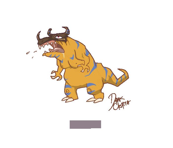 Derpymon - Greymon