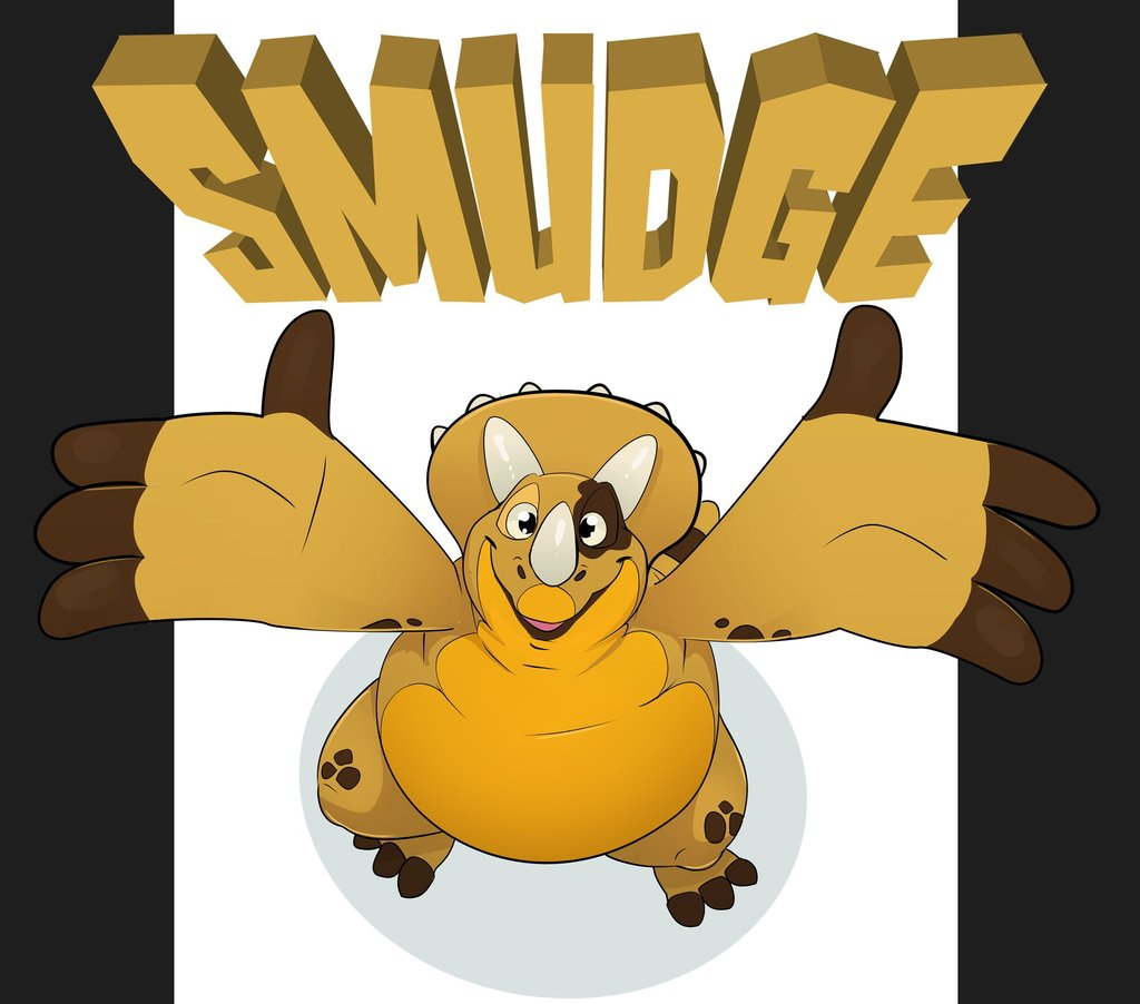 Smudge Badge by Queso