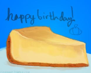 jA's Birthday Cheesecake
