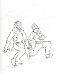 Kirk and Gorn 5eva