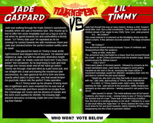 Tournament Match 40: Jade Gaspard vs Lil' Timmy