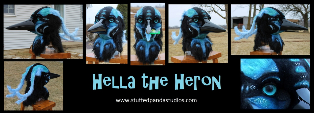 Hella the Heron mask