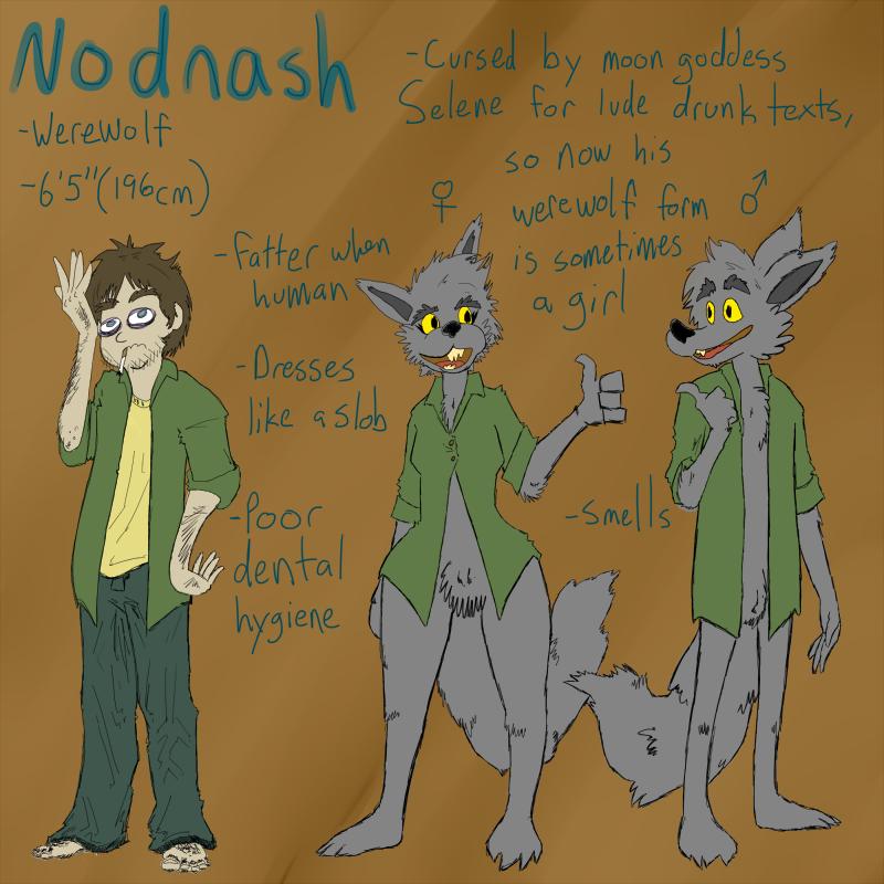 Most recent image: Nodnash Ref Sheet