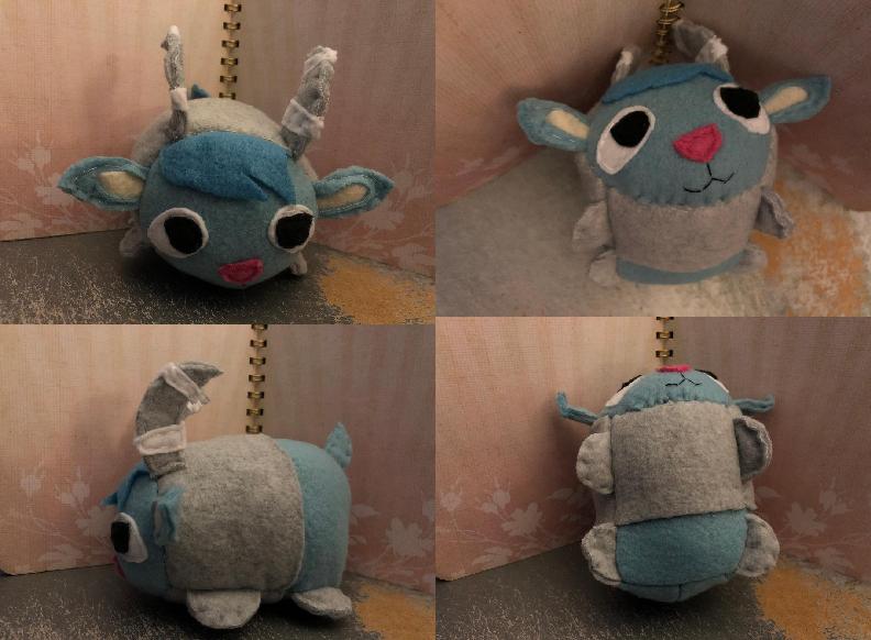 Animal Crossing New Horizons Sherb Smedium Stacking Plush Gift