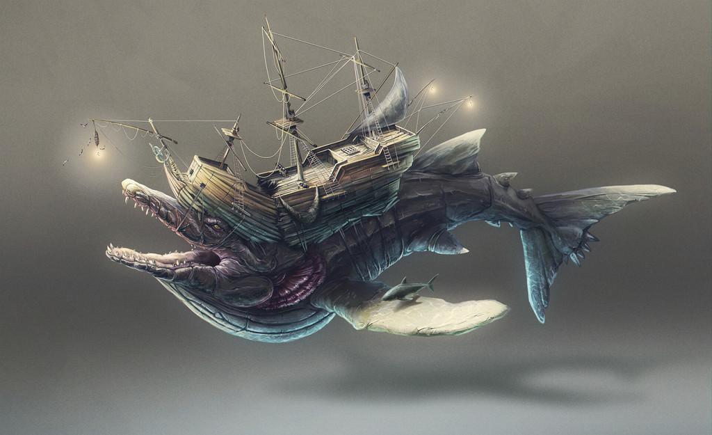 Ship monster