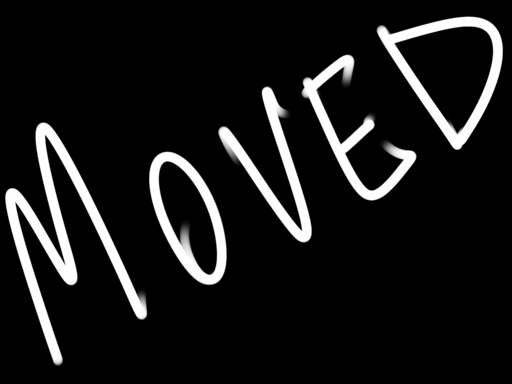Most recent image: Moving again
