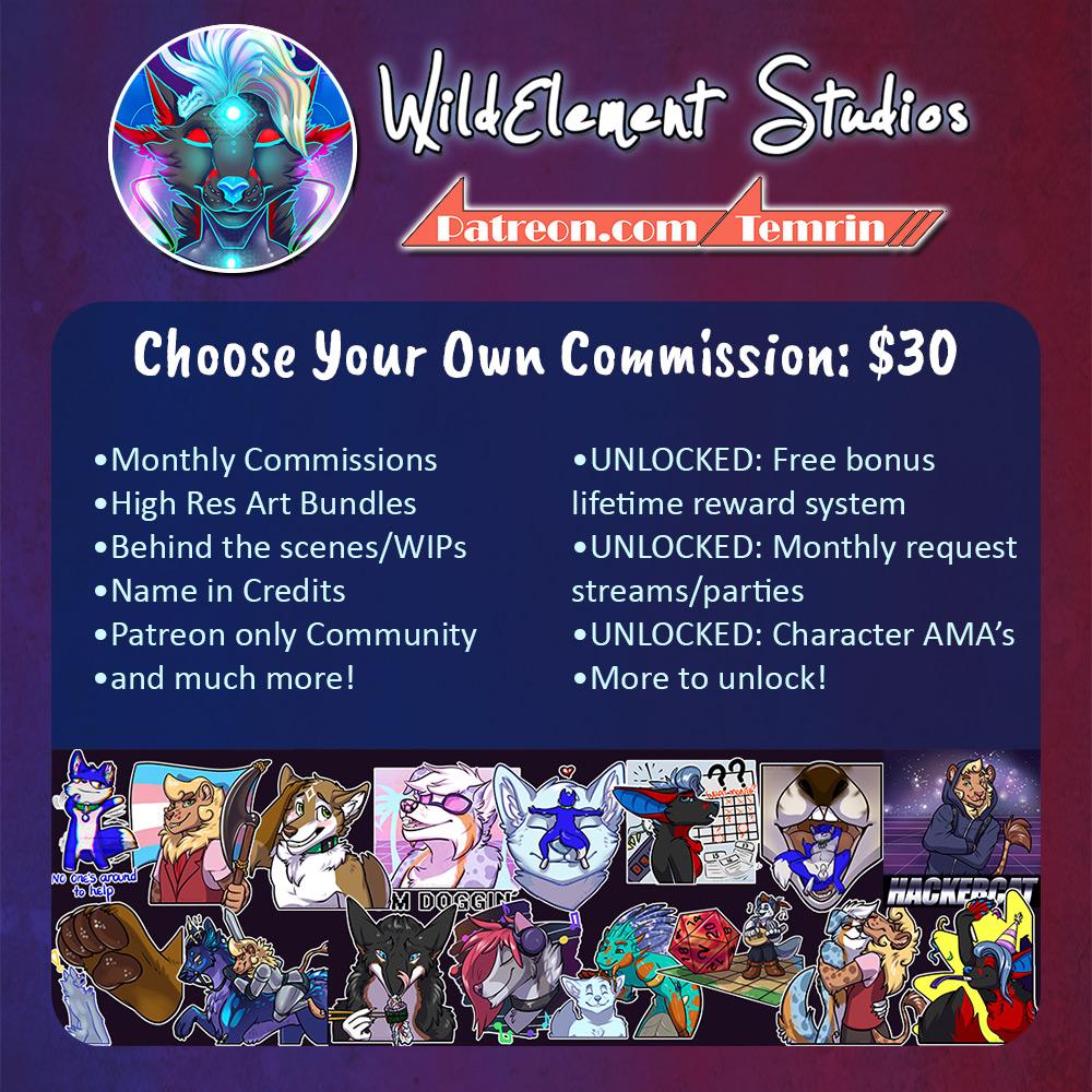 1 Commission slot OPEN!