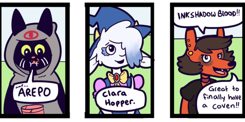 Critter Coven Page 5 on Tapastic!!