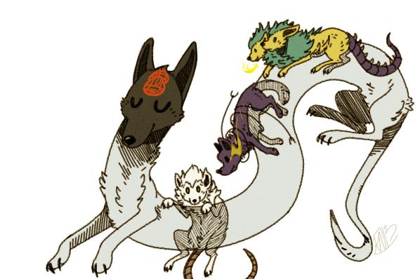 Dog demons