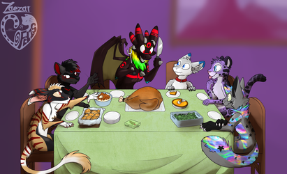 A nice Thanksgiving Feast