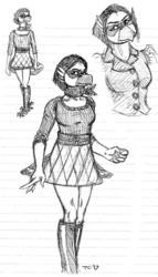 Viktoria Fashion Sketches